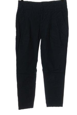Sisley Pantalone jersey nero elegante