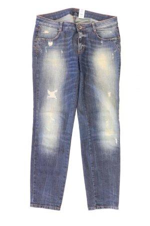 Sisley Straight Jeans Größe W28 blau aus Baumwolle