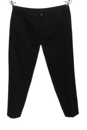 Sisley Straight-Leg Jeans schwarz Business-Look