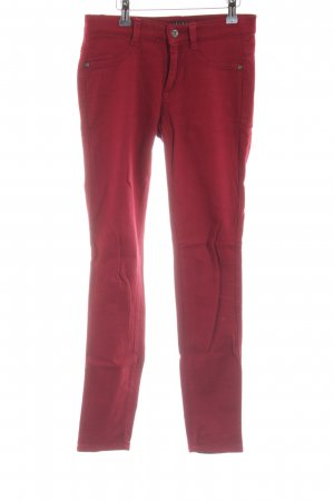 Sisley Stretch Jeans red casual look