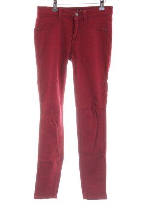 Sisley Jeans stretch rouge style décontracté