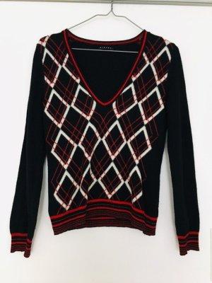 Sisley Strick-Pullover in V Ausschnitt