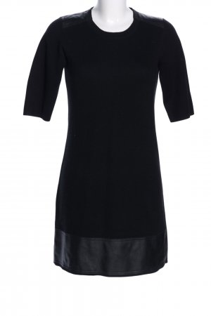 Sisley Abito di maglia nero stile professionale