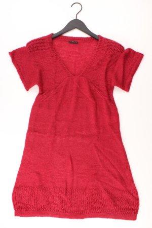 Sisley Strickkleid Größe 36 Kurzarm rot