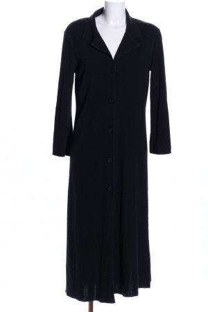 Sisley Knitted Coat black business style