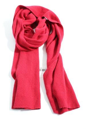 Sisley Gebreide sjaal rood casual uitstraling