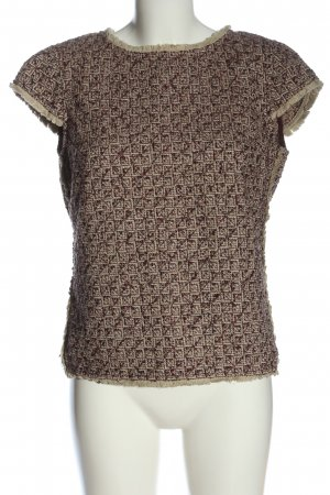 Sisley Knitted Jumper brown-white flecked casual look