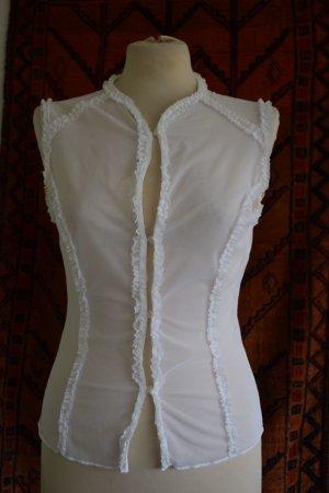 Sisley - Süßes Tüll Shirt Gr. M - neu