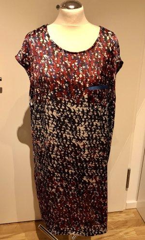 Sisley: Superleichtes kühles Sommerkleid Satin Gr. M wie neu