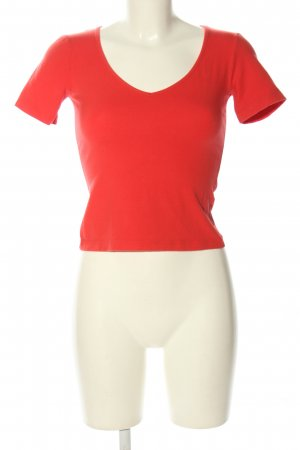 Sisley T-Shirt rot Casual-Look