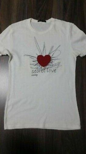 Sisley T-Shirt weiß Gr. S wie neu
