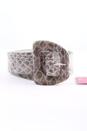 Sisley Cintura vita marrone stampa integrale stile professionale