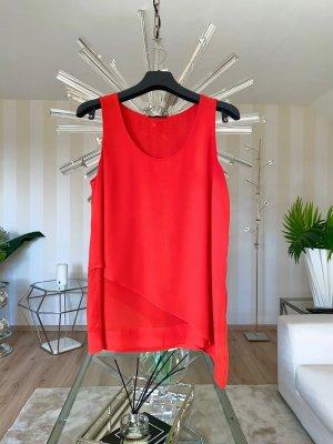 Sisley Top de tirantes rojo-rojo claro
