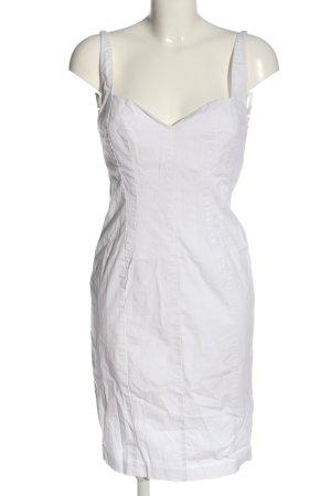 Sisley Trägerkleid weiß Casual-Look