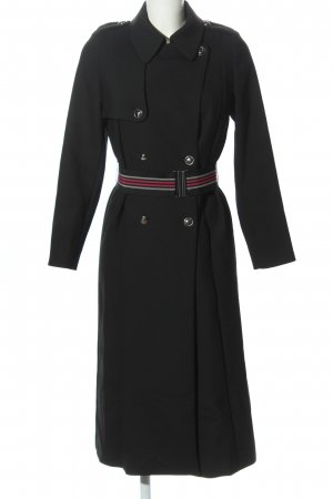 Sisley Trenchcoat schwarz Casual-Look