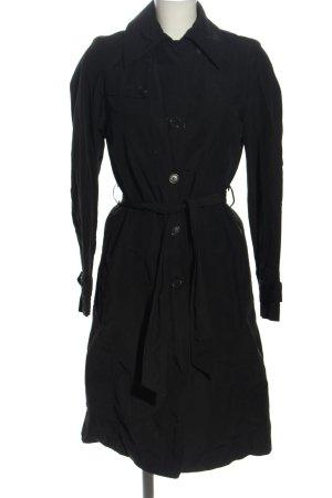 Sisley Trenchcoat schwarz Casual-Look