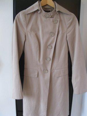 Sisley Trenchcoat, beige, Größe 34 neuwertig