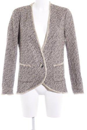 Sisley Tweedblazer mehrfarbig Casual-Look