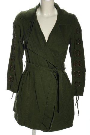 Sisley Übergangsjacke grün Casual-Look