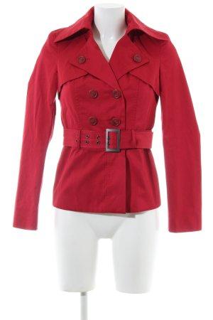 Sisley Übergangsjacke rot Casual-Look