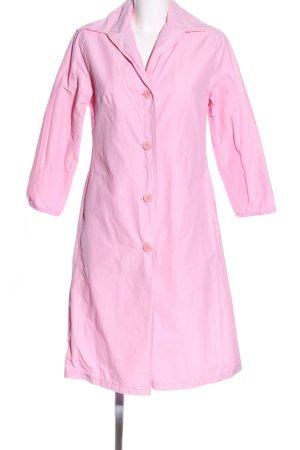 Sisley Übergangsmantel pink Casual-Look