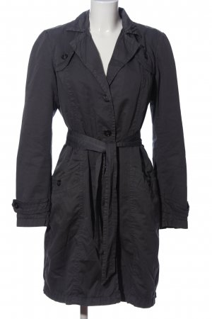 Sisley Manteau mi-saison gris clair style d'affaires