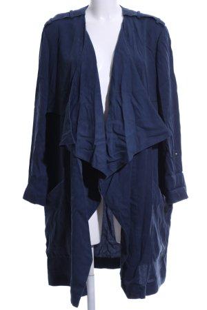 Sisley Übergangsmantel blau Casual-Look