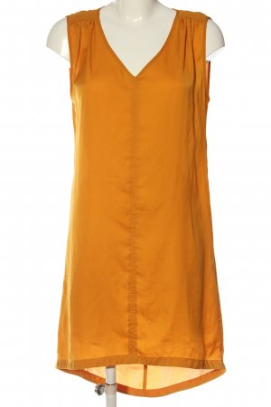 Sisley Vokuhila-Kleid hellorange Casual-Look