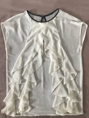 Sisley Weiße Bluse Größe M