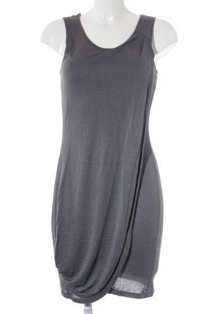 Sisley Wickelkleid grau Casual-Look