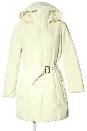 Sisley Winterjas wit casual uitstraling