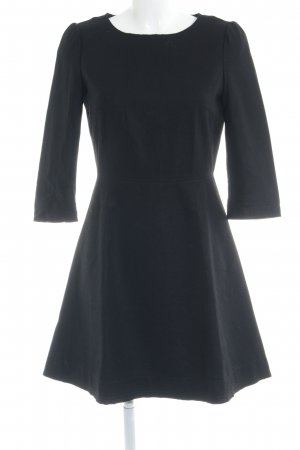 Sisley Woolen Dress black elegant
