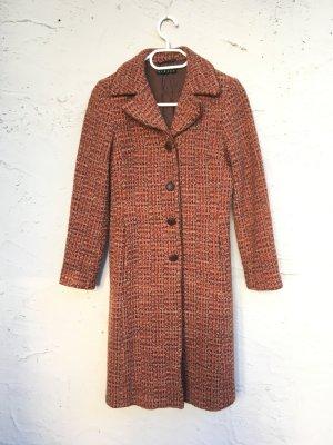 Sisley Wollen jas donker oranje-bruin