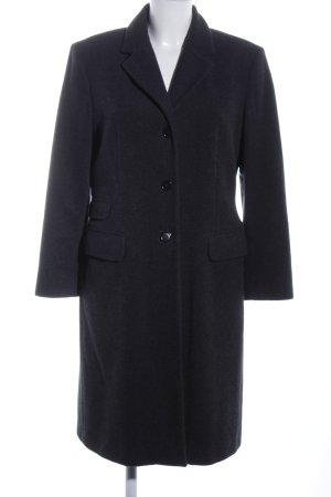 Sisley Cappotto in lana nero stile professionale