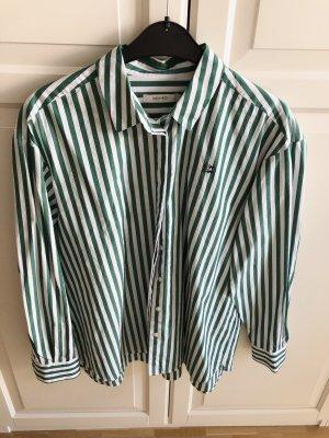 Sissy - Boy Camicia a maniche lunghe bianco-verde chiaro Cotone