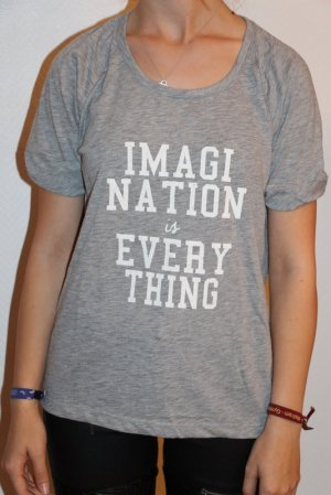 "Sissy-Boy Shirt  Gr. M ""Imagination is everything"""