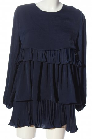Sister Jane Abito a maniche lunghe blu stile casual
