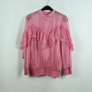 SISTER JANE Volantsbluse Gr. M pink (20/07/108*)