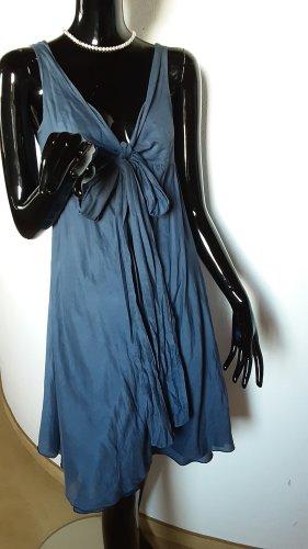 sisters Vestido línea A azul oscuro