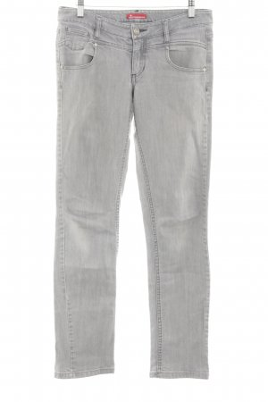 Sisterhood Skinny Jeans hellgrau Casual-Look