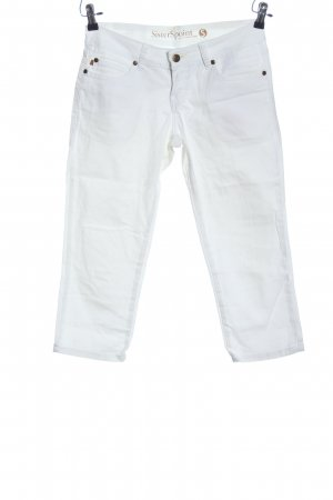Sisters point 3/4-jeans wit casual uitstraling