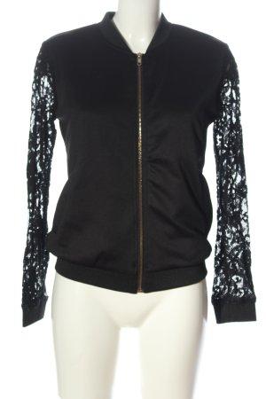 Sisters point Bomber Jacket black elegant