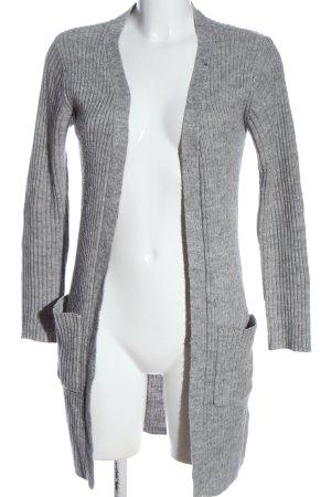 Sisters point Cardigan gris clair moucheté style décontracté
