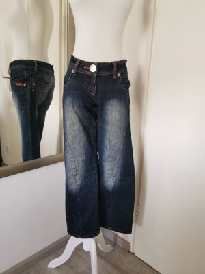 Sisters point Denim Flares dark blue cotton
