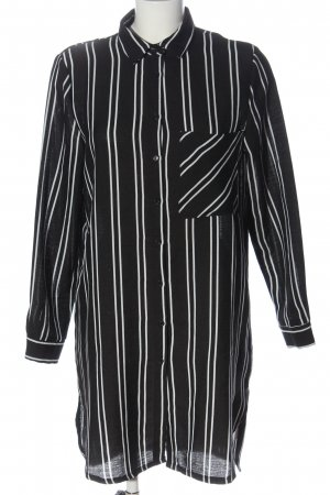 Sisters point Shirtwaist dress black-white allover print casual look