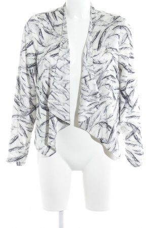 Sisters point Kurzjacke abstraktes Muster Casual-Look