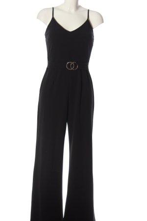 Sisters point Langer Jumpsuit noir élégant