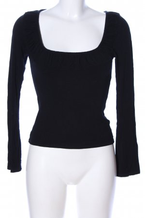 Sisters point Longsleeve schwarz Casual-Look