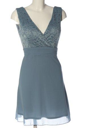 Sisters point Minikleid blau Elegant