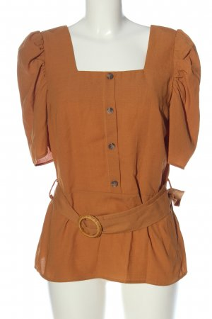 Sisters point Slip-over Blouse light orange casual look
